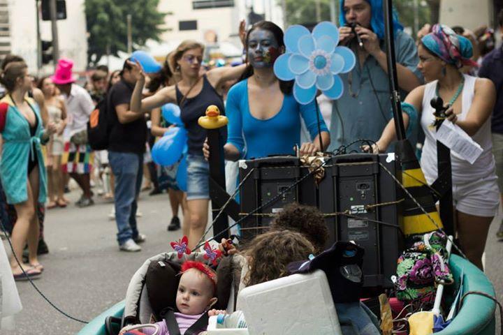 Bloco Fluvial do Peixe Seco, no carnaval (Foto: Divulgação)